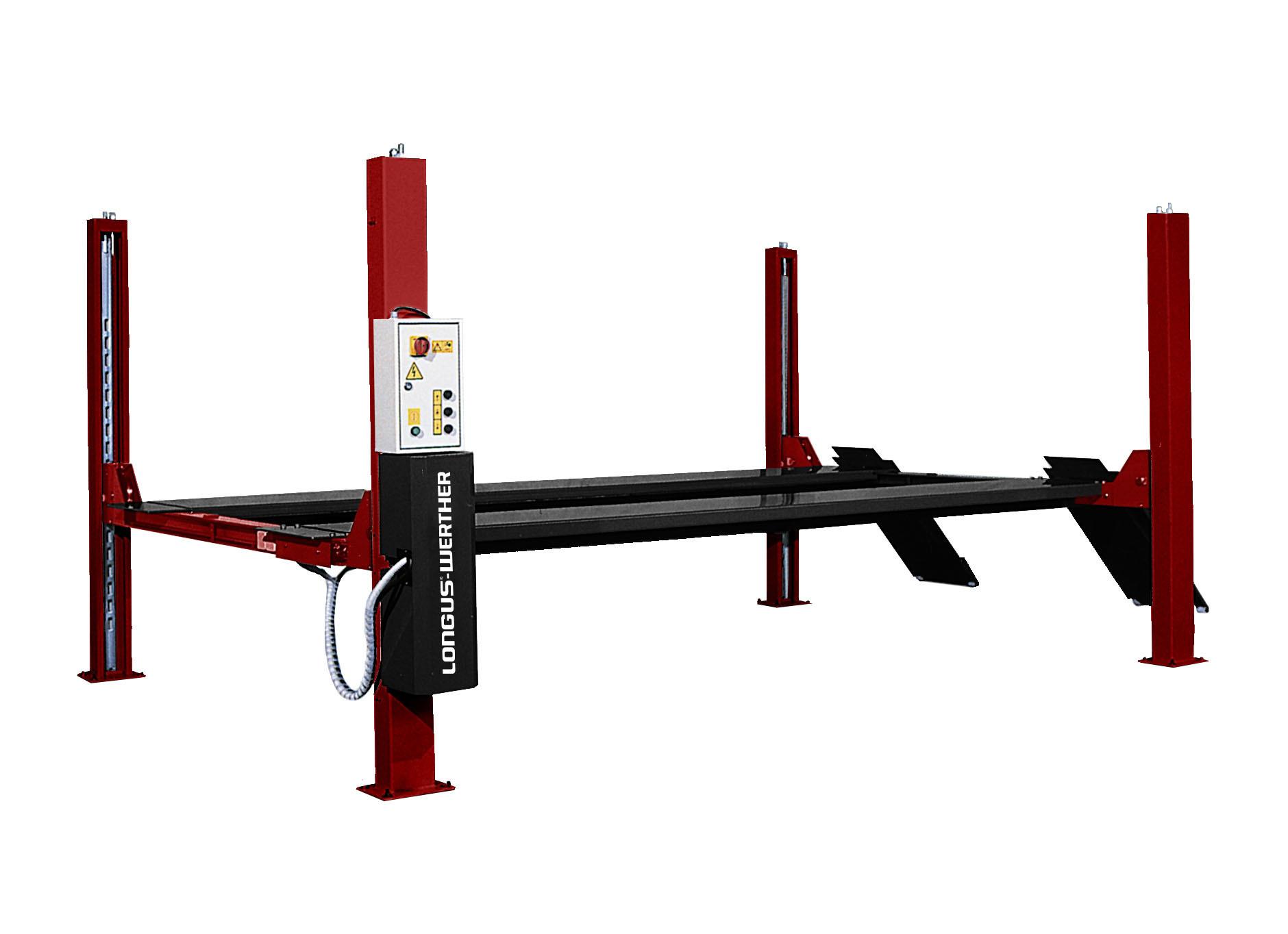 LONGUS GmbH - 4-Säulen-Hebebühne - LW-450-N/5