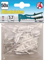 KRAFTMANN BGS 88142 Blindnieten-Sortiment 70-tlg.
