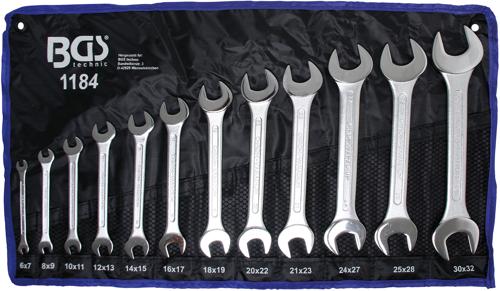 BGS 1184-6x7 6x7 mm Cl/é plate