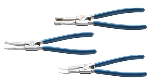 BGS Sicherungszange für Antriebswellen leicht abgewinkelt Spezial Zange