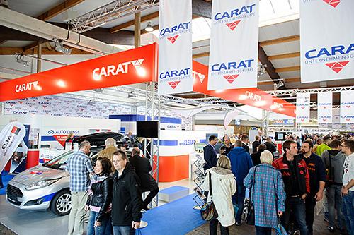 Impression von der CARAT Leistungsmesse