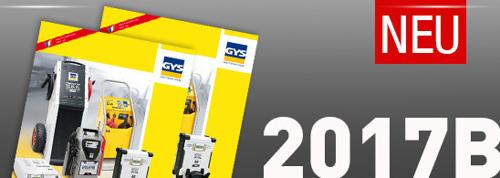 Der neue Batterieservicegeräte-Katalog 2017B ist da!