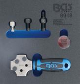 f/ür Art BGS 3057-20 /Ø 6,3 mm Pressdorn Stufe1 3057 1//4