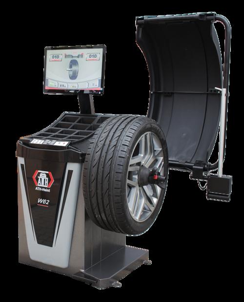 Radwuchtmaschine ATH W62 LCD 3D