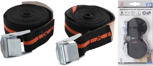 Spannband mit Schnellverschluss Kraftmann 3597 3,5 m x 25 mm