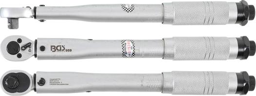 """5-25 Nm 3//8/"""" BGS 959 DrehmomentschlüsselAbtrieb Außenvierkant 10 mm"""